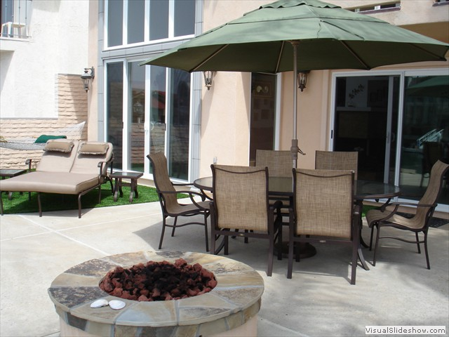 Patio Gas Firepit